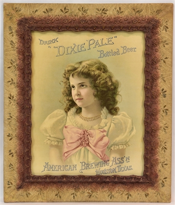 Dixie Pale Beer Pre-Prohibition Litho