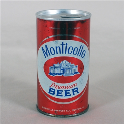 Monticello Beer BO Zip Top 95-06