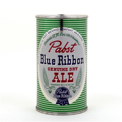 Pabst Blue Ribbon Ale Flat Top Beer Can
