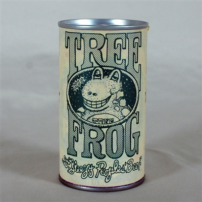 Tree Frog Promotional Paper Label