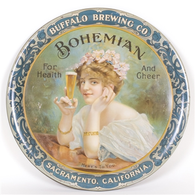 Buffalo Brewing Bohemian Beer Tray