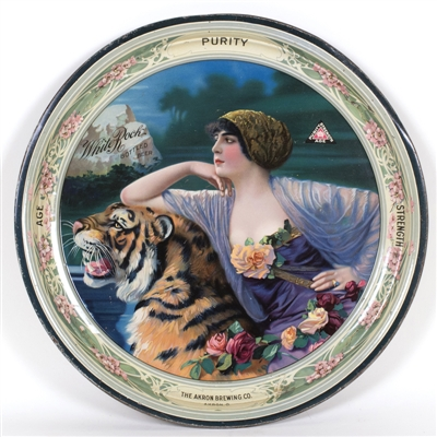 Akron Brewing Bengal Tiger & Lady Beer Tray