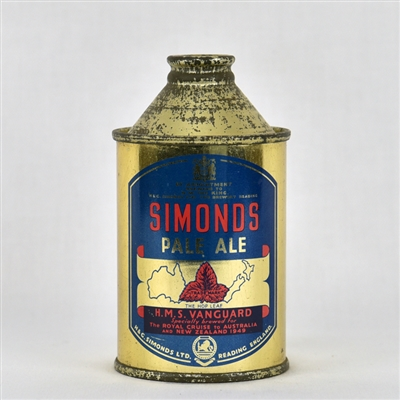 Simonds Pale Ale Early British Cone Top Can
