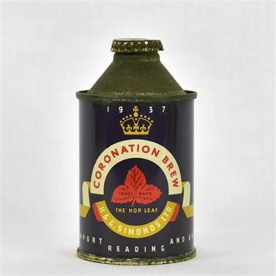 Coronation Brew Early British Cone Top Can