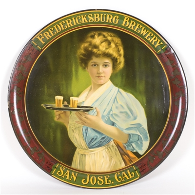 Fredericksburg Brewery San Jose Beer Maid Serving Tray