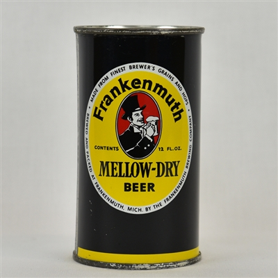 Frankenmuth Mellow-Dry Flat Top Beer Can