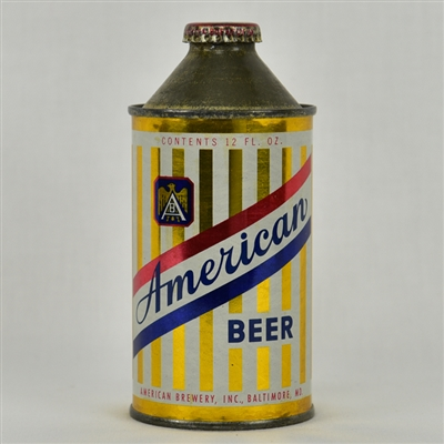 American Beer High Profile Cone Top Can
