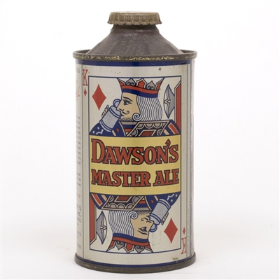 Dawsons Master Ale Cone Top Can
