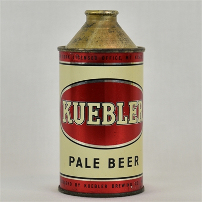 Kuebler Pale High Profile Cone Top Beer Can