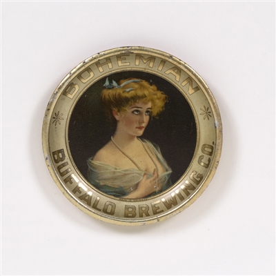 Buffalo Brewing Bohemian Victorian Lady Tip Tray
