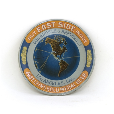 Los Angeles Brewing East Side Globe Tip Tray
