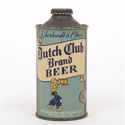 Eberhardt & Ober Dutch Club Brand Cone Top Can