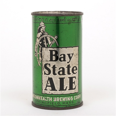 Bay State Ale Instructional Flat Top Can