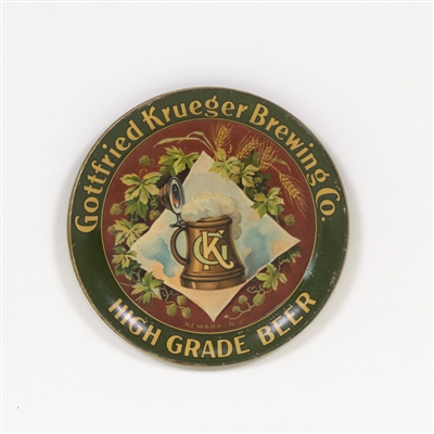 Gottfried Krueger High Grade Beer Tip Tray