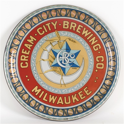 Cream City Brewing Beer Serving Tray