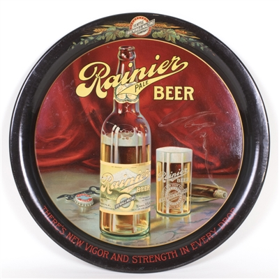 Rainier Beer Serving Tray