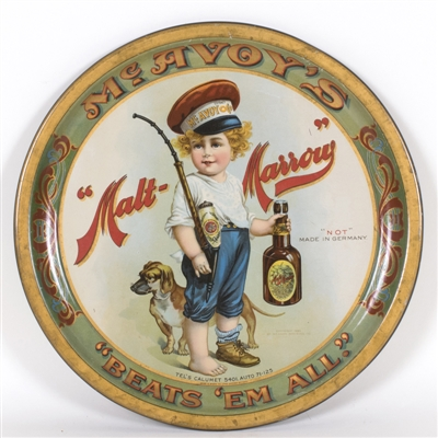 Malt Marrow Dog Boy Bottle Tray