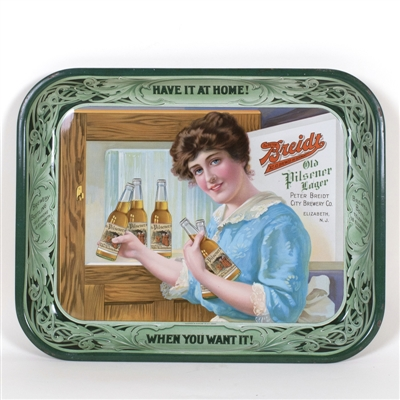Breidt Old Pilsner Lager Lady Bottles Tray