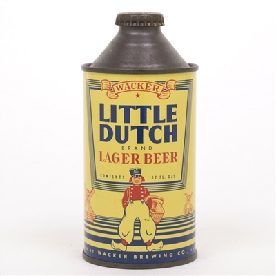 Wacker Little Dutch Lager Beer Cone Top Can
