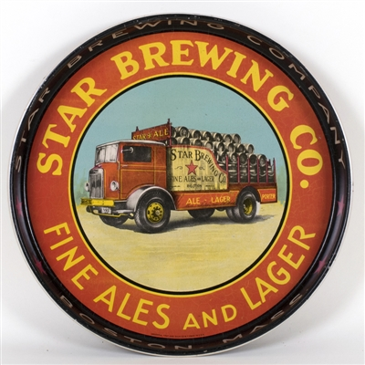 Star Brewing Fine Ales Lager Beer Truck Tray