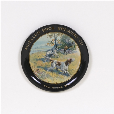 Mueller Bros Brewing Hunting Scene Tip Tray
