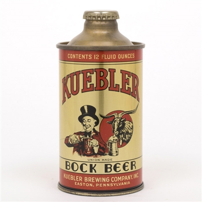 Kuebler Brewing Bock Beer Cone Top Can