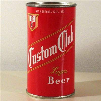Custom Club Lager Beer 053-02