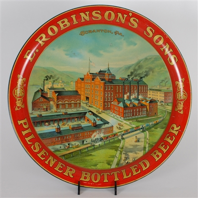 E. Robinsons Sons Pre-prohibition Beer Tray