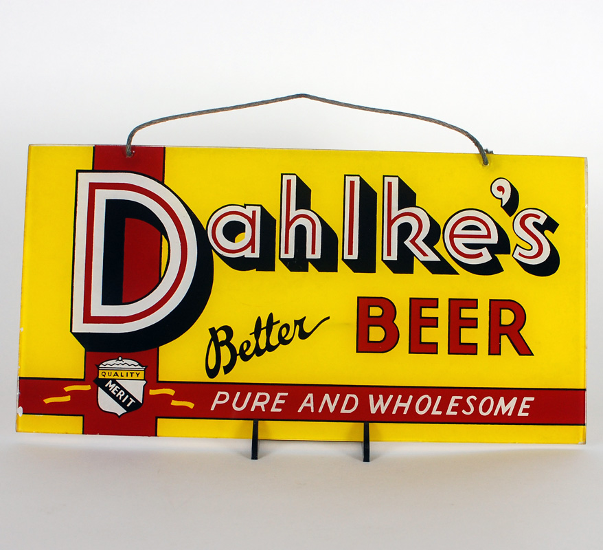 Dahlke's Beer ROG Sign
