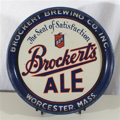 Brockerts Ale Seal of Satisfaction Tray