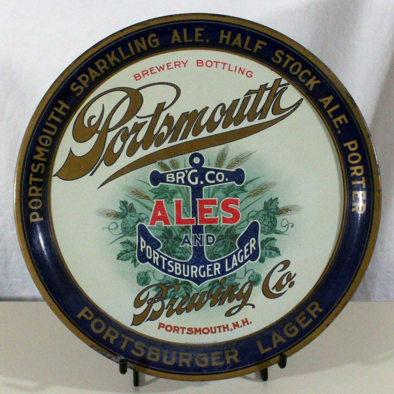 Portsmouth Ale & Portsburger Lager Anchor Tray