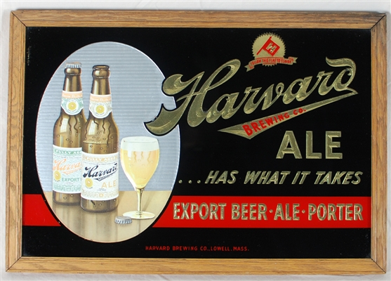 Harvard Ale Has What it Takes RPG Sign