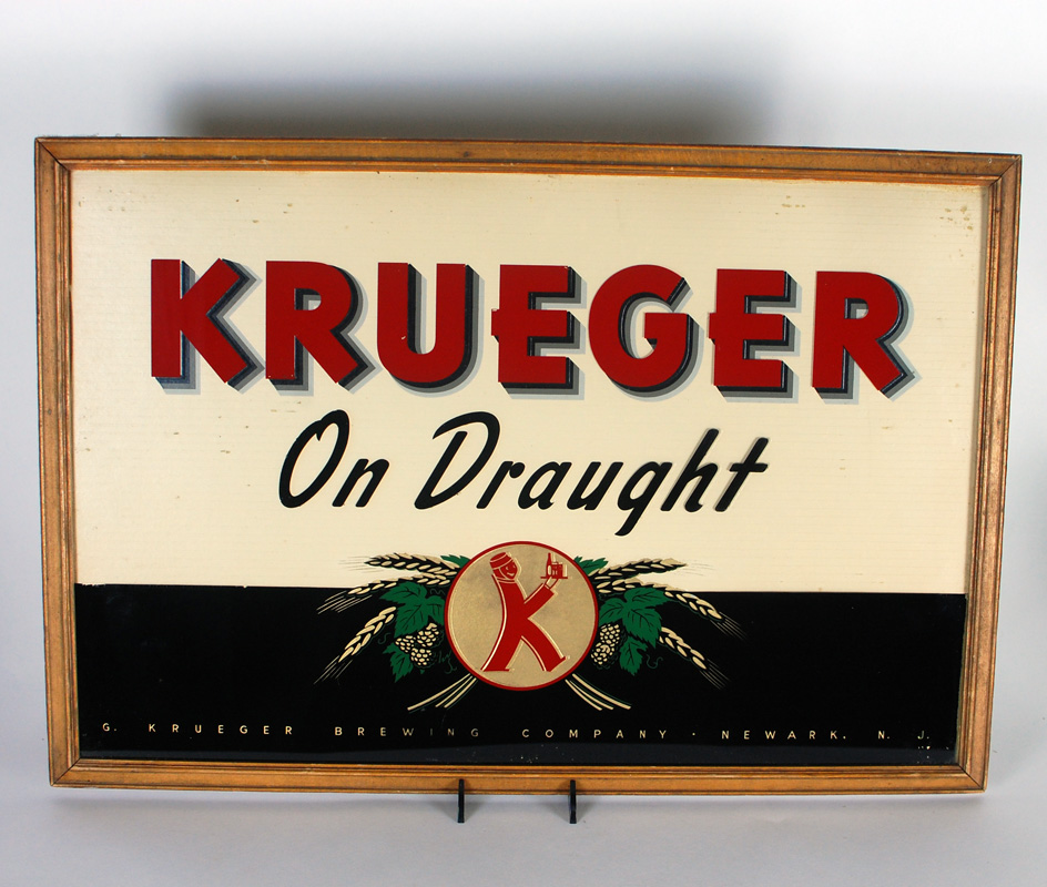 Krueger On Draught ROG Sign