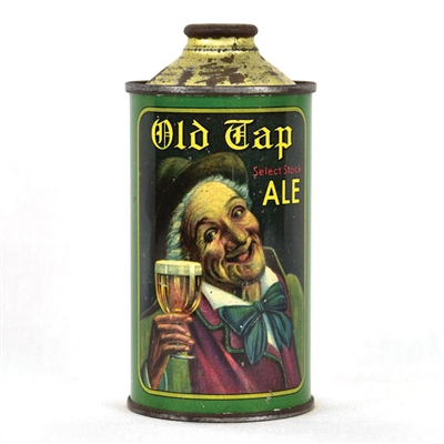 Old Tap Select Stock Ale Cone Top Beer Can
