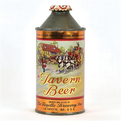 Tavern Beer High Profile Cone Top Can