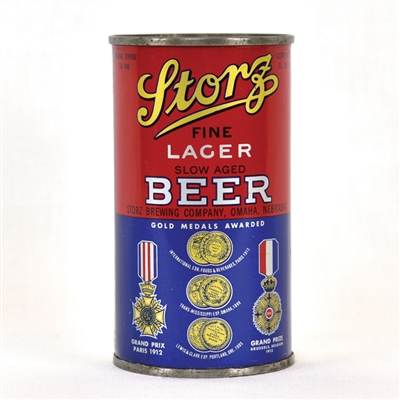 Storz Lager Beer Flat Top Can