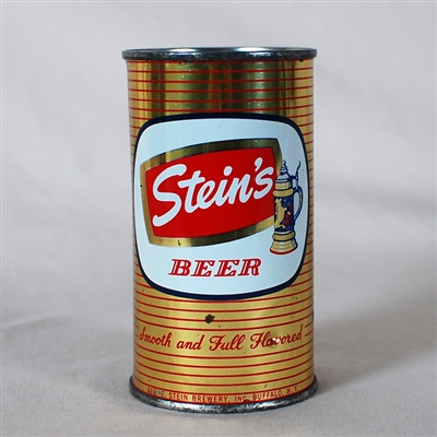 Steins Beer Flat Top Can 136-25