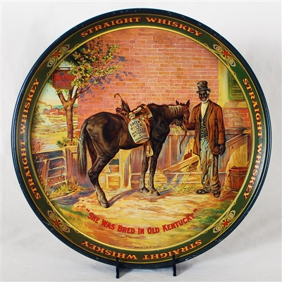 Green River Whiskey Advertising Tray