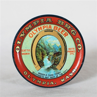 Olympia Pre-prohibition Tip Tray