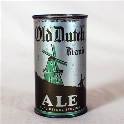 Old Dutch Brand Ale Instructional 594