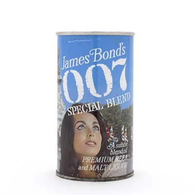 "James Bond 007 ""Guards"" Beer Can"