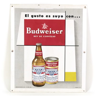 Budweiser Beer Spanish TOC Tacker