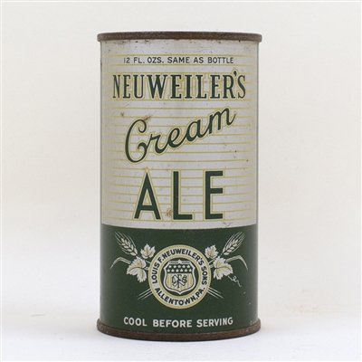 Neuweilers Cream Ale Instructional Flat Top