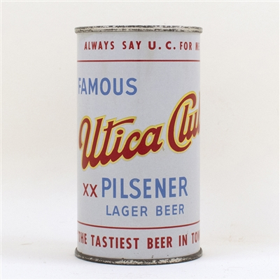 Utica Club Beer Bank Top Can