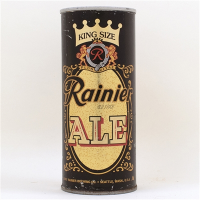 Rainier Old Stock Ale King Size Test Can