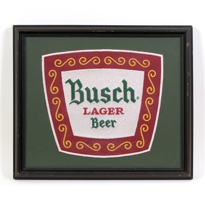Busch Beer Large Embroidered Cloth Patch