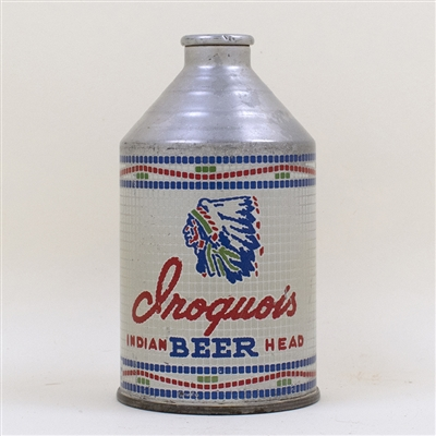 Iroquois Indian Head Beer Crowntainer