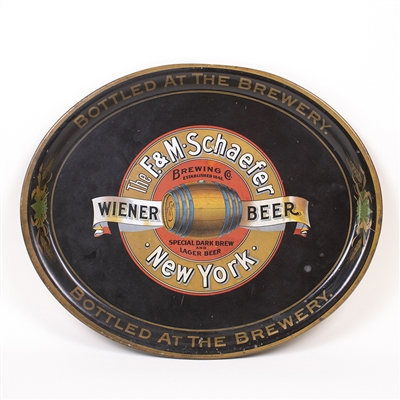 F and M Schaefer Wiener Beer Pre-Pro Tray