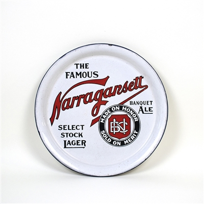 Narragansett pre-Proibition Enameled Tray