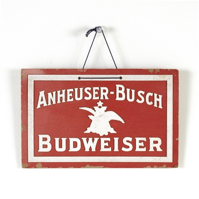 Anheuser-Busch Budweiser Raised Art Sign